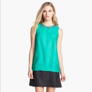 """Kate Spade """"Rosita"""" embellished collar dress"""